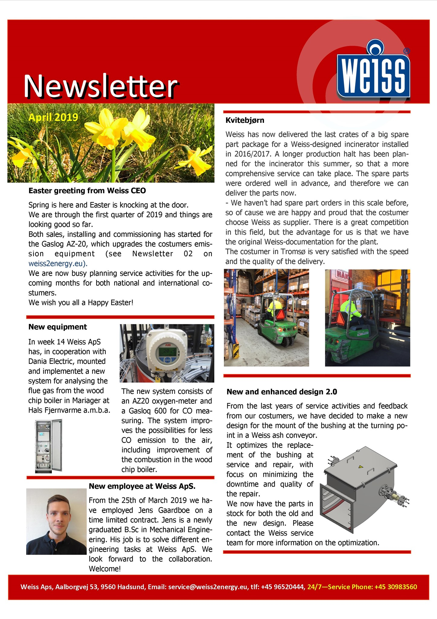 newsletter april 2019-